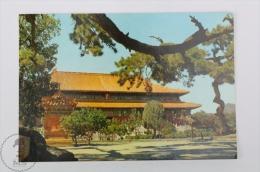 China Postcard - Hall Of Benefaction, Ming Tombs - China