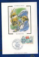FRANCE  ( C M ) :  CORSAIRE BASQUE ,  ST-JEAN-DE-LUZ  DU  13 SEPTEMBRE 1997, A   VOIR . - Cartes-Maximum