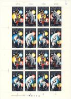 DDR Michel No. 2364 - 2367 ** postfrisch Bogen PF 2365 I / 17 Lb I (177x250 mm)