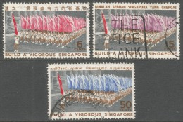 Singapore. 1967 National Day. Used Complete Set. SG 92-94 - Singapore (1959-...)