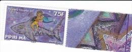 "Timbre Polynésie Française Neuf Sans Trace Luxe . MNH . Année 2014 ; Légende Polynésienne "" PIPIRI MA "" - French Polynesia"