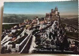 San Marino Panorama Viaggiata - San Marino