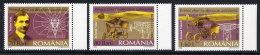 ROMANIA 2006 Trajan Vuia Set Of 3  MNH / **.  Michel 6046-48 - 1948-.... Republics