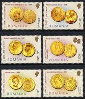 ROMANIA 2006 Gold Coins Set Of 6   MNH / **.  Michel 6035-40 - 1948-.... Republics