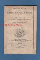 Livre Ancien De 1882 - Souvenirs Du Pèlerinage De Pénitence à Jérusalem - Librairie Briquet à SAINT DIZIER , Haute Marne - Histoire