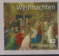 2014 Austria Mi. 3175 **MNH .Weihnachten NOEL  Rollenmarke Selbstklebend - 2011-... Nuevos & Fijasellos