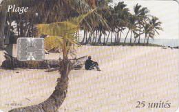 COMOROS ISL. - Beach(white CN), Used - Comoros