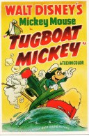 "- WALT DISNEY'S - Mickey Mousse - ""TUGBOAT MICKEY"" - Scan Verso - - Disney"
