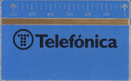 SPAIN(L&G) - Telefonica(B 009), CN : 711B, 11/87, Mint