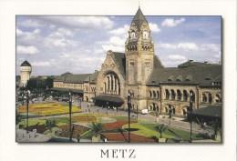 CPM Metz La Gare - Bahnhöfe Ohne Züge