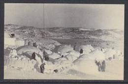 Greenland Eskimo Village At Igloolik 1979 Postcard Unused (20008) - Greenland
