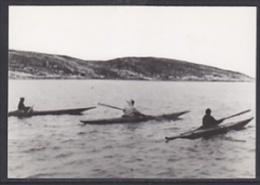 Canada Baffin Island Kayak Racing Postcard Unused (20008A) - Nunavut
