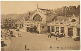 Liege Gare Des Guillemins Tramway Tram Nels  Thill Serie 8 No 25 - Liege
