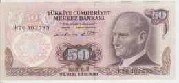 Turkey 50 Liras 1970 Pick 188 UNC - Turchia