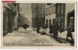 Guarda Neve  Na Rua Alves Roçadas Chute De Neige  1951 - Guarda