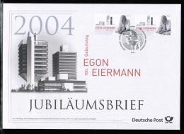 DE 2004 100 GEBURSTAG E. EIERMANN - BRD