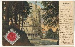 Bussaco Palace Hotel Vignette Porto  1917 Guerre 1914 Assistancia Victimas Guerra - Aveiro