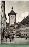 Freiburg I. Br. Schwabentor – 1955 -Verlag: ------------,  POSTKARTE Mit  Frankatur, Mit  Stempel, Gelaufen, 1.6.5 - Freiburg I. Br.