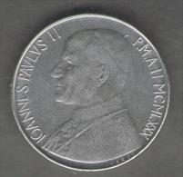 VATICANO 100 LIRE 1980 - Vaticano