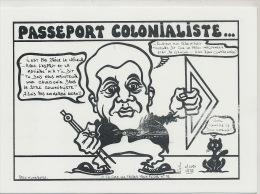 Passeport Colonialiste Lafleur Franc Maçonnerie Chat Noir Dick Ukeiwe 85 Ex Numerotés - New Caledonia