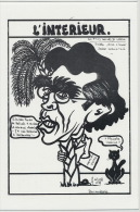 L Interieur Pierre Joxe  Ouvea Chat Noir Rocard 1988 85 Ex Numerotés  Signée Jacques Lardie - Nuova Caledonia