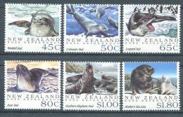 110 NOUVELLE ZELANDE 1992 - Mammiferes Marins Terre De Ross (Polaire) - (Yvert 1168/73) Neuf ** (MNH) Sans Charniere - Neufs