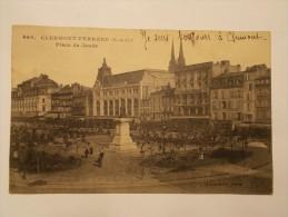 Carte Postale - CLERMONT FERRAND (63) - Place De Jaude (1840) - Clermont Ferrand