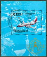 Nicaragua Block 168  Flugzeuge - Nicaragua