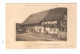 CPA : 90 - Lepuix : Café & Débit De Tabac Bourqueneure : Souvenir De La Campagne D'Alsace 1914 - 15 - 16 - France