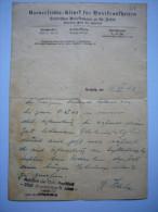 Document 1943 En Allemand Militaire? Docteur Spiethoff Clinique Universitaire Leipzig - Documents