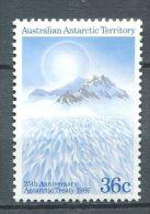 114 AUSTRALIE ANTARCTIQUE 1986 - Traite Antarctique (Polaire Montagne) - (Yvert 73) Neuf ** (MNH) Sans Charniere - Unused Stamps