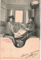 THMS BERGERET Lot De 10 Cartes Les Gêneurs En Wagon - Bergeret