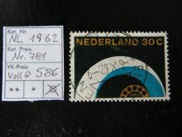 """1962  """"  Vollautomatisierung Des NL- Fernsprechnetzes """"   30C   Vollstempel   LOT 586 - Gebraucht"""