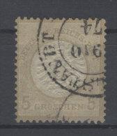 Deutsches Reich Michel No. 6 gestempelt used