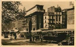 PARIS   PORTE ST MARTIN     AUTOCAR  AUTOBUS - Arrondissement: 10