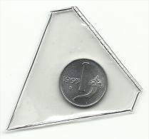 1993 - Italia 1 Lira Fdc Da Divisionale - 1946-… : Repubblica