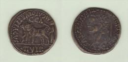 Hispania TIBERIO (14 -36 D.C.)   As-Cobre  Réplica   T-DL-11.223 - Monedas Falsas