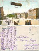 AK Berlin, Denkmal, Strassenansicht, Zeppelin - Mitte