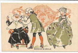 CHROMOS FARINE SALVY - BARBIER DE SEVILLE. - Trade Cards
