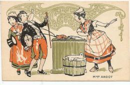CHROMOS FARINE SALVY - Mme ANGOT. - Trade Cards