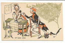 CHROMOS FARINE SALVY - Mme SANS-GENE. - Trade Cards