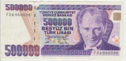 Turkey 500000 Liras 1970(93) Pick 208 UNC - Turchia