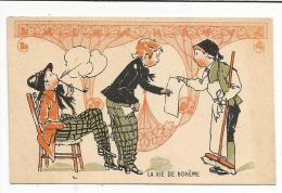 CHROMOS FARINE SALVY - LA VIE DE BOHEME. - Trade Cards