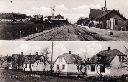 PARTIER FRA HÖIBY, Karte Um 1920 - Dänemark
