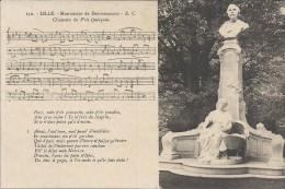 LILLE - 59 -  Monument De Desrousseaux - Chanson Du P'tit Quinquin -- VAN - - Lille