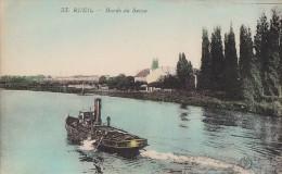 Transports - Bâteaux - Remorqueur Sur La Seine Rueil - Remorqueurs