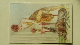 Cp Illustrateur BOMPARD  Femme Sexy Et Chien - Bompard, S.