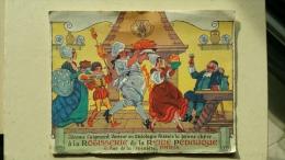 Rotisserie De La Reine Pedauque, Merveilleuse Excursion Organisée 29 X 11 Cm - Vieux Papiers