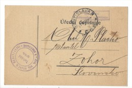 11991 - Bratislava Postovni Sporitelnou Poukazujeme Vam V Dobropise - Tchéquie