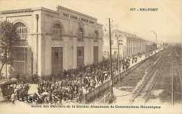 Nov14 2265: Belfort  -  Ouvriers  -  Usine - Belfort - Ville